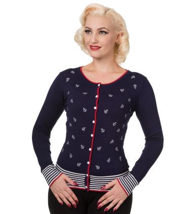 Close Call Cardigan - Navy