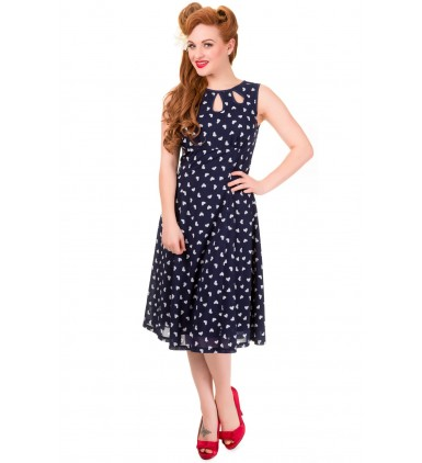 Songbird Dress - Navy